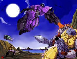 Pretender battle by hinomars19