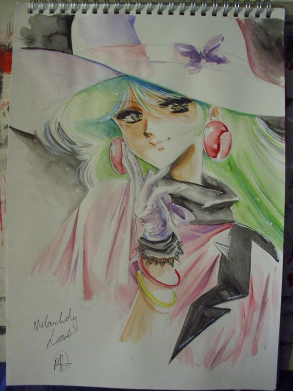 Eve watercolour