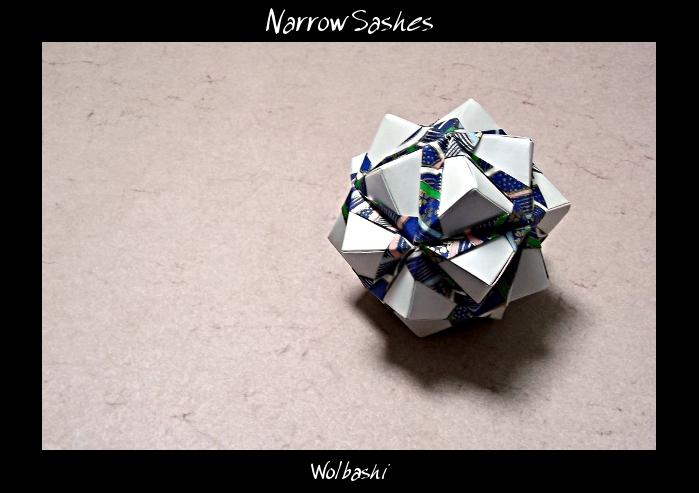 Narrow Sashes by wolbashi
