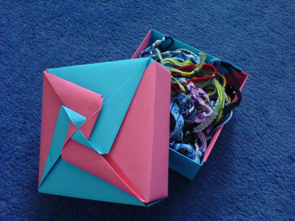 Modular Origami Box With Lid Tomoko Fuse Hexagon Instructions Wolbashi On Deviantart 1032x774
