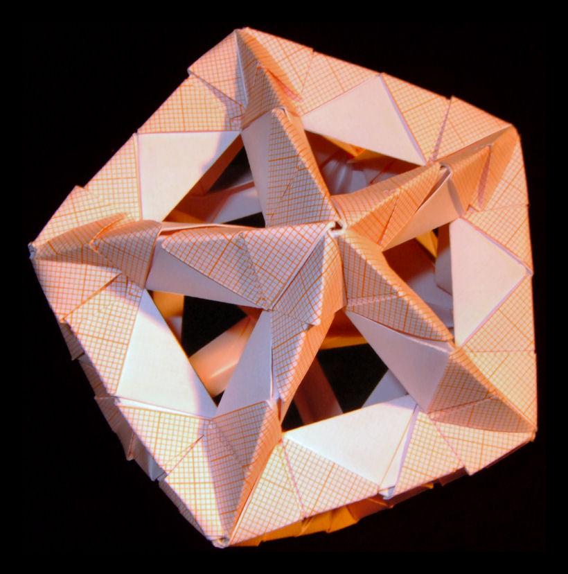 Platonic solid by wolbashiPlatonic Solid Net