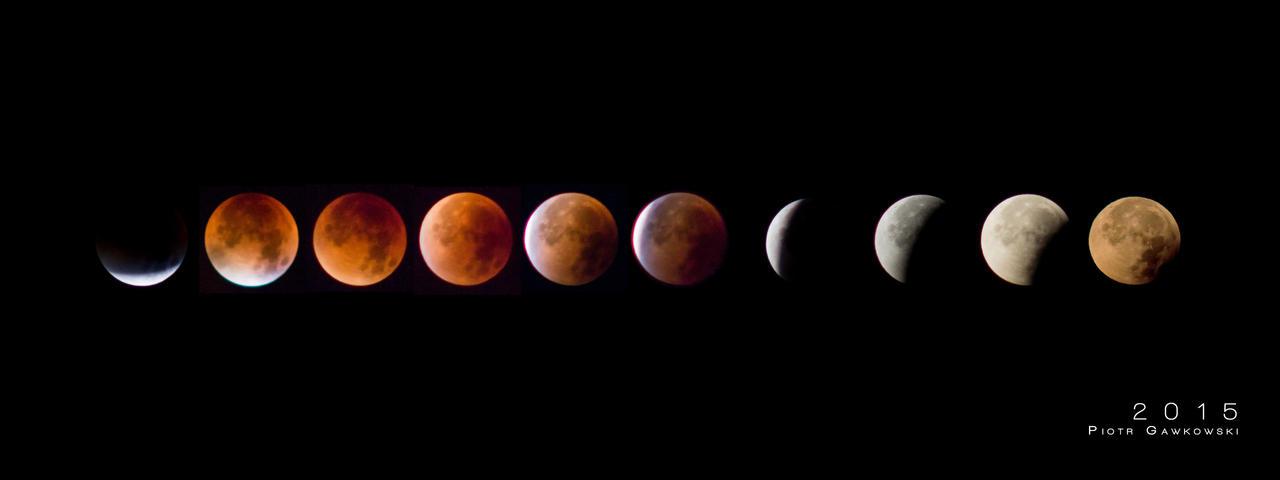 Lunar Eclipse 2015 by mekemee