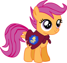 Scootaloo by Discourt