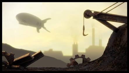 Steampunk Junkyard Nuit Max 36 by Codexus