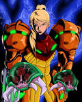 Samus, Metroids, and the Nondescript Blue Thing