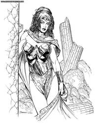 2004 Wonder Woman by BrandonPeterson