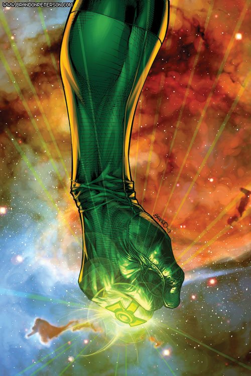 Green Lantern 176 Cover by BrandonPeterson