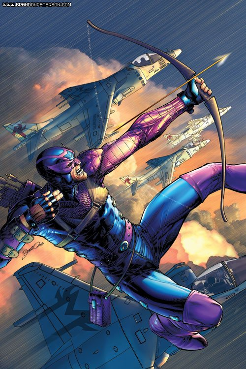 Hawkeye by BrandonPeterson