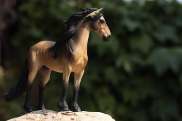 Buckskin Friesian by PegasusCreations
