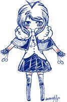OC: PokeGijinka doodle by dreaminglilly