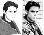 PonyBoy Curtis Portrait (The Outsiders)