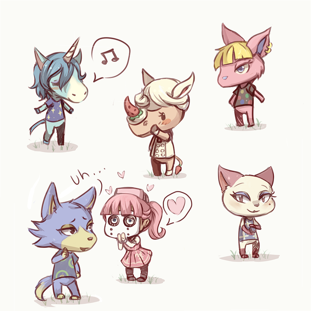 Kid cat animal crossing