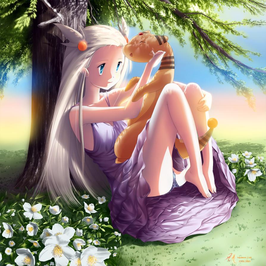 Tree Shade and Jasmine by HaydenM
