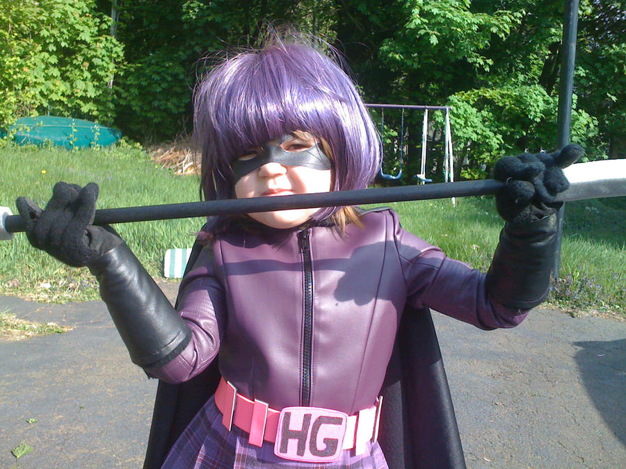 Aeris as Hit Girl by Christian-Lee