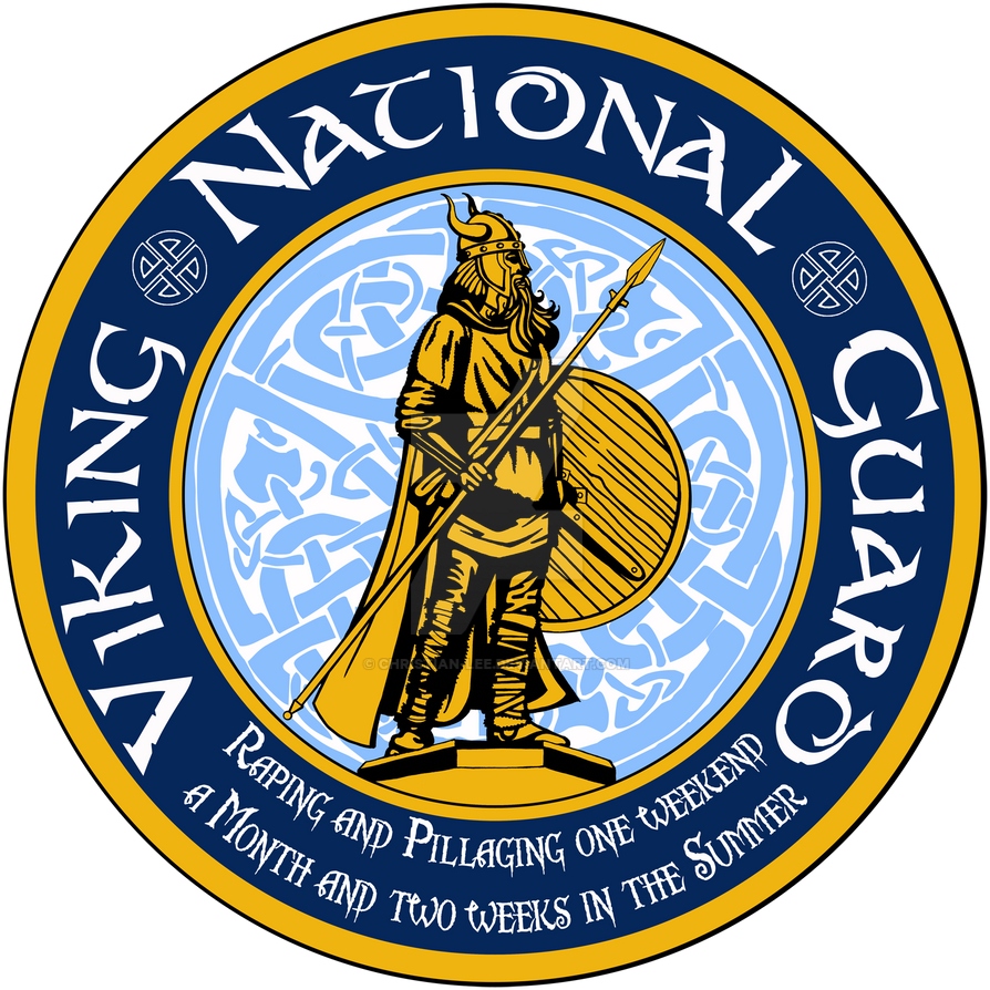 Viking National Guard Symbol By Christian Lee On Deviantart