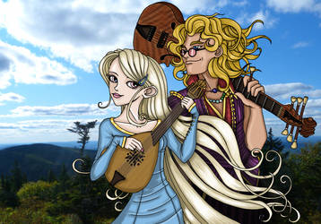 Rigolo and Bresaadi by Christian-Lee