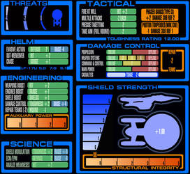 Savage Worlds Star Trek Combat Display by Christian-Lee