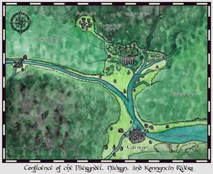 Konnyntin Wilderness Area Map by Christian-Lee