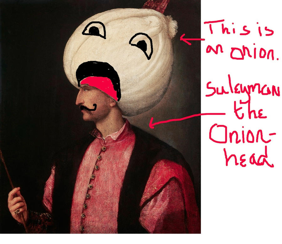 Suleiman the Magnificent painting