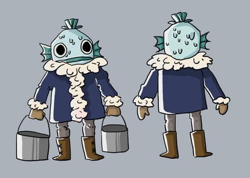 Fish Man