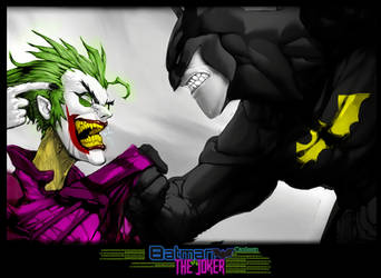 BatMan and The Joker [In Jail] by Madmax00007