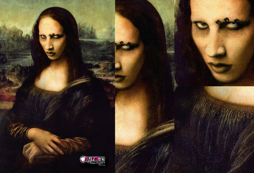 Mona lisa Manson by ilustra2