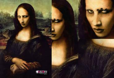 Mona lisa Manson by ilustra2