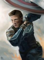 Captain America by Cecilia-Pekelharing