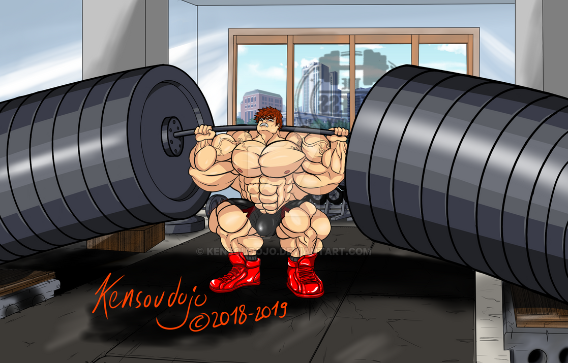 Dante squat deadlift (2016-2019) by Kensoudojo