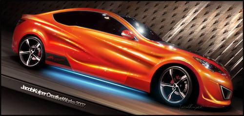 2008 Hyundai Genesis. by JacobKuiper