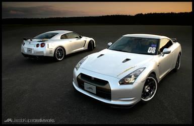 JK Nissan GT-R CBA-R35 by JacobKuiper