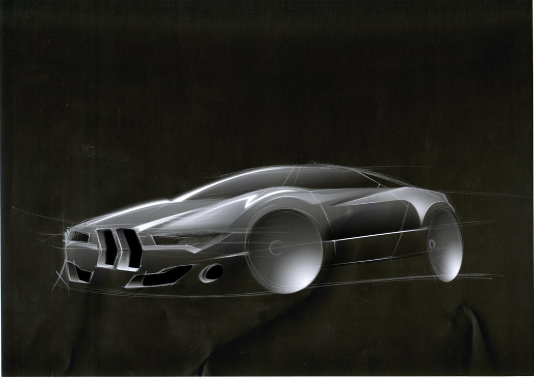 BMW M1 Concept. by JacobKuiper on DeviantArt