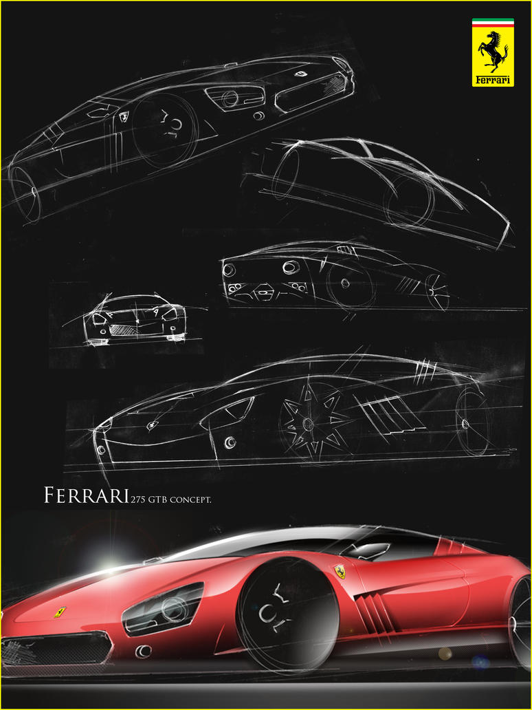 Ferrari 275-GTB by JacobKuiper