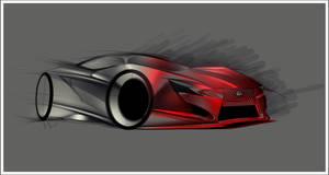 Lexus Concept sketch