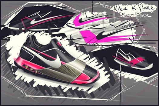 Nike K-flare Runner Design