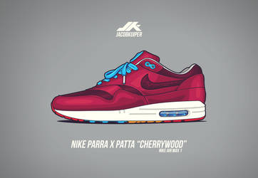 a1630ee373a7dc stillxcold 5 0 Parra x Patta Nike Air Max 1 Cherrywood by JacobKuiper