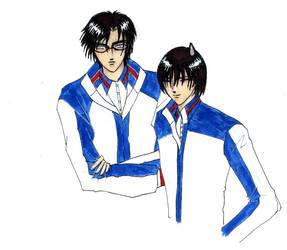 Tezuka x Fuji Fan Art by abusivelove