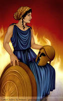 Mother of Achilles by gpalmer