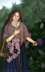 Roses, Lilacs and Violets