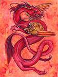 Chinese Dragons: Fire