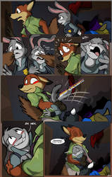 Zootopia Commission: Stifling the Noise by MocksingBird