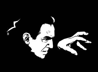 Bela Lugosi as Count Dracula by nuohooja