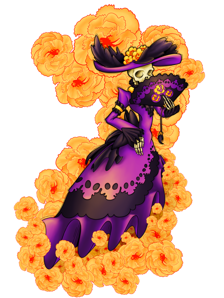 Charming Catrina by AbissZombie