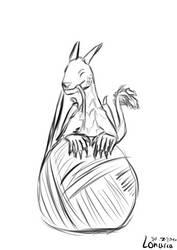 Sketch: Oreon by Lonarca