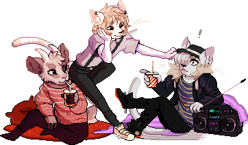 [com] the Trio by metriaus