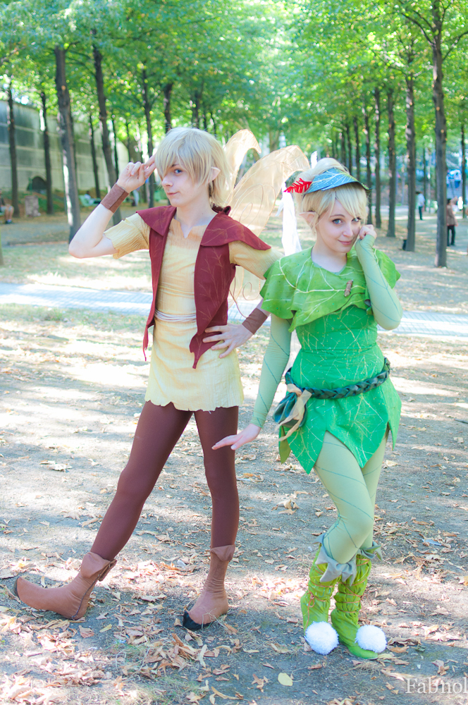 Terence and Tinkerbell by Feeracie
