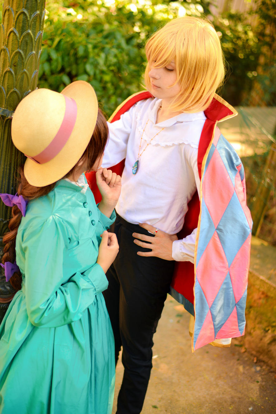 Howl's Moving Castle - Howl and Sophie by Feeracie