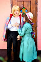 Howl's Moving Castle - Howl and Sophie II by Feeracie