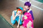 Rarity,Rainbow,Pinkie-My little pony