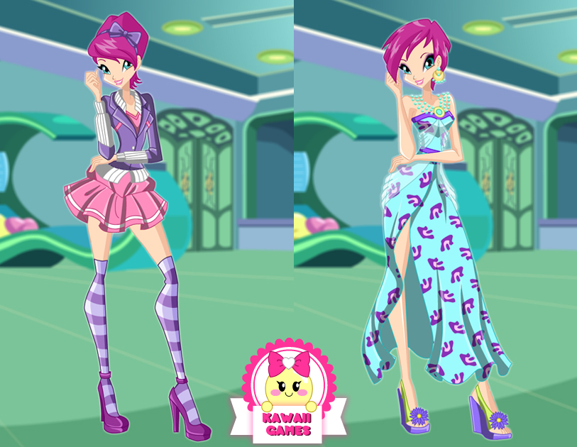 winx club tecna dress up